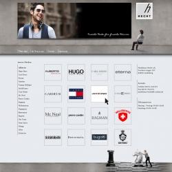 Organix Webseite Modehaus Hecht