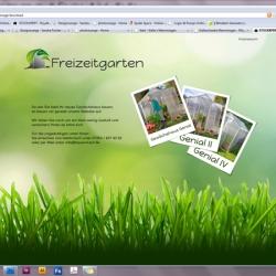 Wordpress - Platzhalter Freizeitgarten
