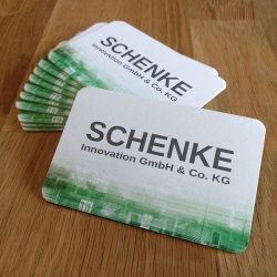 Visitenkarte Schenke Innovation