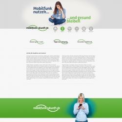 Wordpress - Webseite Mobilfunkzukunft