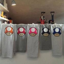 T-Shirt Pilze