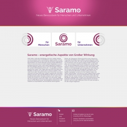 Wordpress - Webseite Saramo